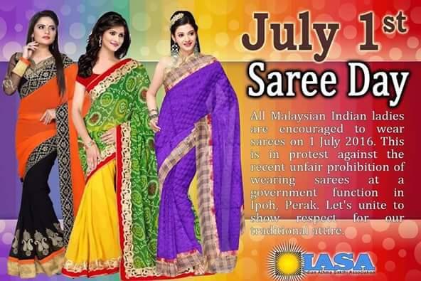 Saree Day, Malaysia, Ipoh City Council, Malaysia, Indian, Hindu