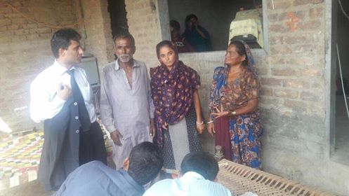 Forcefully converted Hindu girl united with her family!