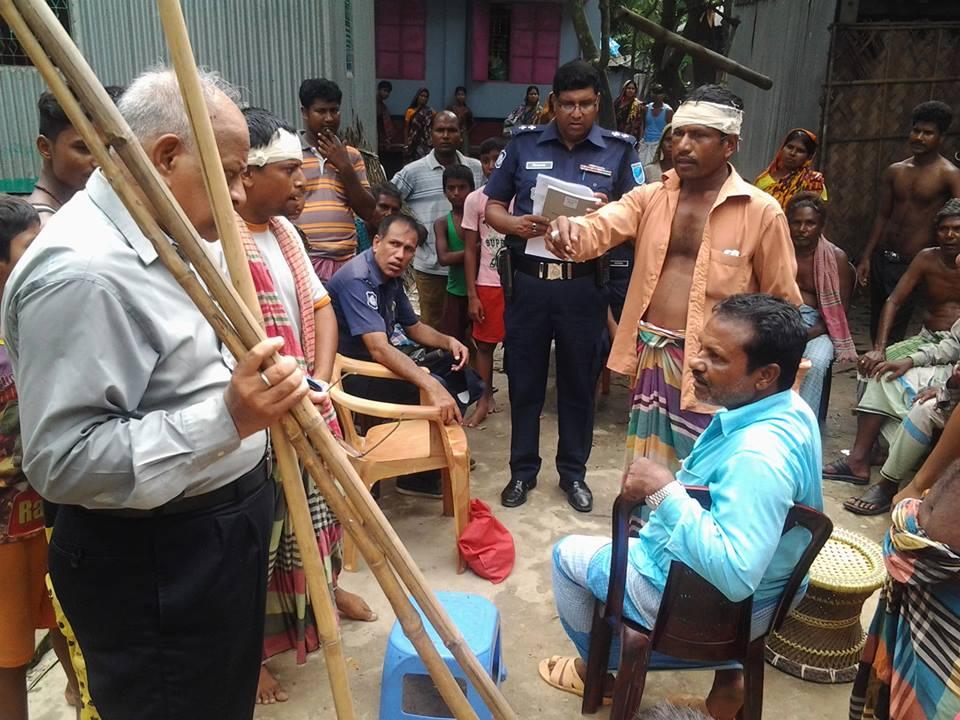 Bangladesh Minority Watch, Rabindra Ghosh attacked, Hindu, Awami League