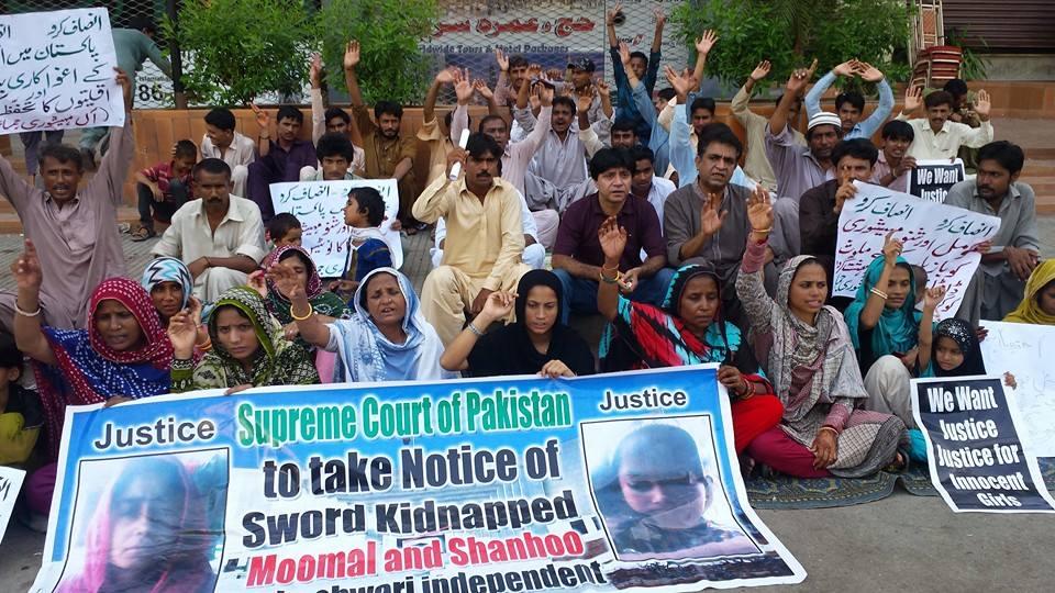 Pakistani Hindus, Pakistani Hindus, girls, Shanu, Maheshwary, Mumal, Momal, abduction, rape, forced conversion, Pakistan, Dada Magsi , Gulzar Magsi, India