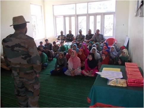 School Chalo Abhiyaan, Kashmir, separatists, Indian Army, career counseling, Gogajipathri, Mehbooba Mufti