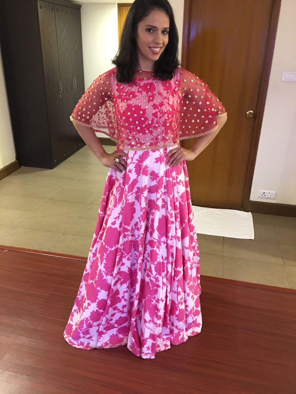 Saina Nehwal, Mrunalini Rao, SRM University, Chennai, badminton