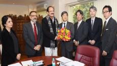 JICA, Japan, India, Varanasi, Japan International Cooperation Agency, Shinichi Kitaoka, Venkaiah Naidu,